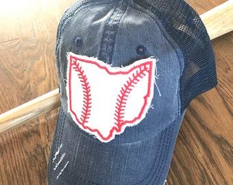 Ohio Baseball Lid