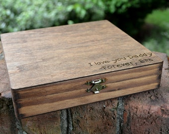 Cigar Box/Letter Box/Keepsake for Dad