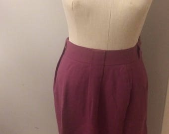 FREE SHIPPING!! Jones New York purple wool skirt womens size 6
