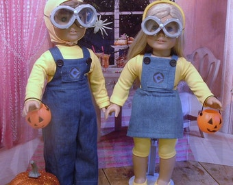 Minions for American Girl/Boy Dolls