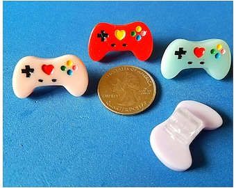 Tube Trinkets:  Gamer Controllers!  Please select quantity 2 for a pair!  Available in 4 Colors!