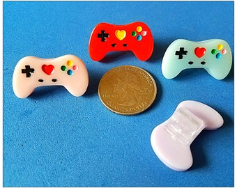 Tube Trinkets or Cochlear Cuties:  Gamer Controllers!  Please select quantity 2 for a pair!  Available in 4 Colors!