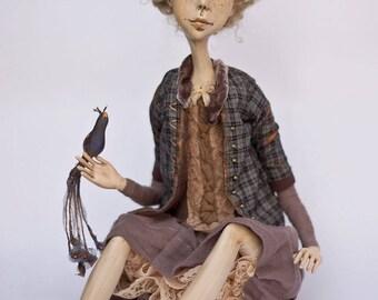 Bird Of The Dreams By Daivos Leles Art Doll Ooak Artist Dolls