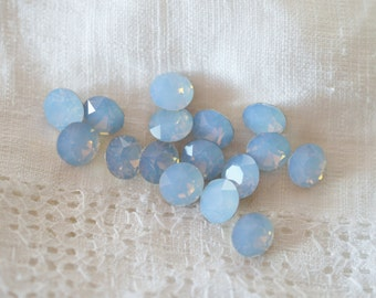 24 pieces 1088 Air Blue Opal 6mm (29ss) Swarovski Crystal Chatons
