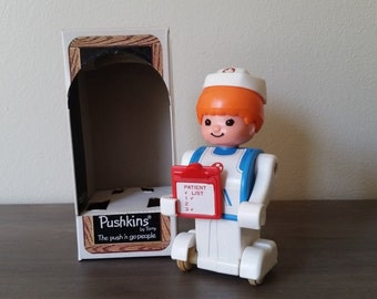 Pushkins Nurse Vintage Brand New by Tomy 1977