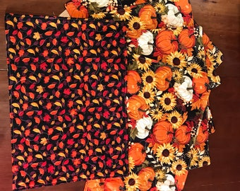 Set of 6 Fall placemats