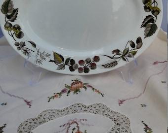 Ridgway Warwick Pattern Oval Serving Platter; Vintage Ridgway China, Vintage Serving Platter, Meat Platter, Display Platter, Cabinet Plate