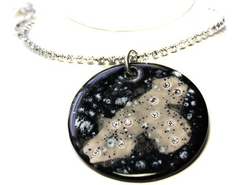 Leo Constellation Sparkle Surly Necklace with Swarovski Crystals