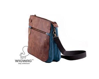 Sac à bandoulière, sac bandoulière, sac moyen, petit sac, sac besace, womens sac, sac à bandoulière en toile, sac à couches, cuir womens sac de toile