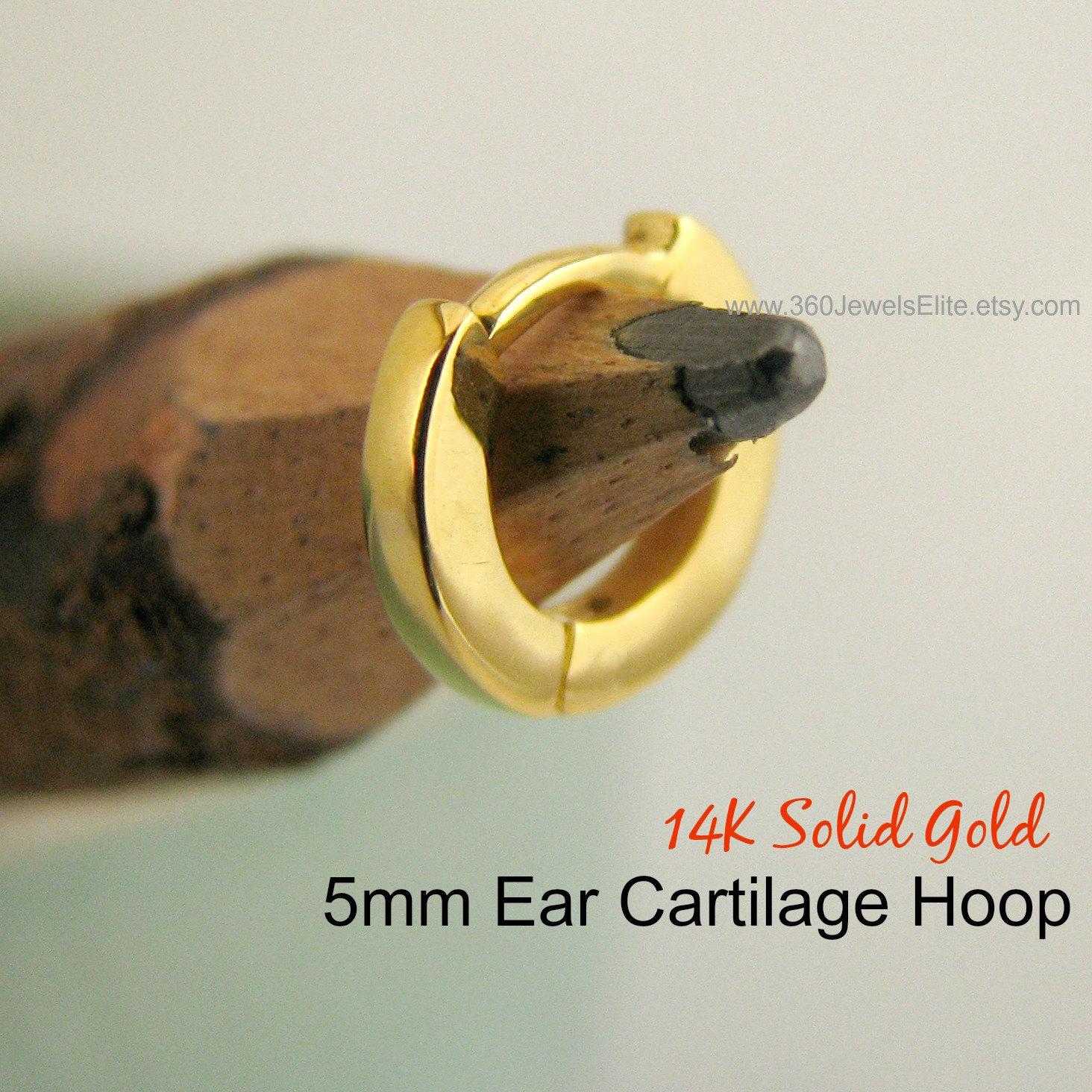 Cartilage earring aurora combustion cartilage hoop earring
