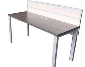 Work table benching desk or reception desk in with an elm work top 24 by 60