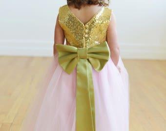 The Elisa Flower Girl Dress