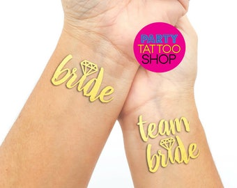 Hen do, Hen's Party, Bachelorette party, bachelorette party favors, bachelorette party tattoo, bride tribe tattoo