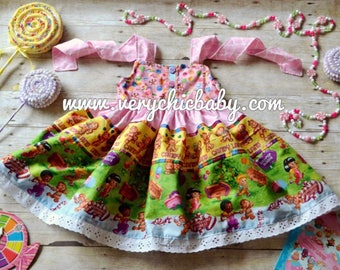 Candyland Party Dress, Candyland Party Costume Dress, Candyland Birthday Dress, Candyland Dress, Candyland Birthday