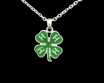 4H Clover Necklace