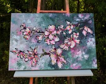 Cherry Blossoms - Original Art