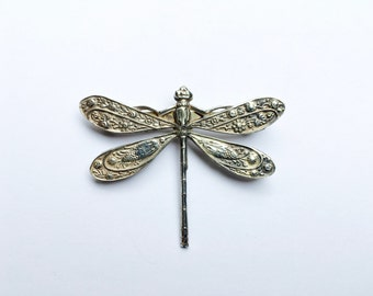 Paisley Dragonfly Brooch