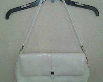 vintage white Bag
