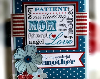 Stampin' Up Mother's Day Card