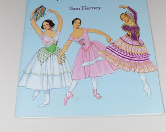 "Tom Tierney Paper Dolls ""Ballet Stars of the Romantic Era"" 1991 Complete Uncut"