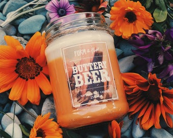BUTTERY BEER - soy wax candle