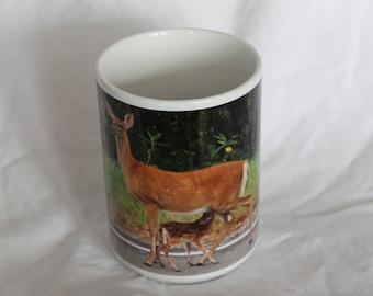 Doe and Fawn Mug