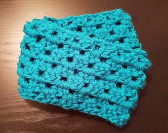 Crochet Cowl - Teal