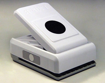 Circle Paper Punch 1.125 inch (28.5mm) Round Hole Punch. Nesting Punch (1 1/8 inch size) Excellent for use with 30mm Cabochon.