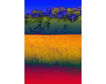 Hayfield 2 - landscape photography