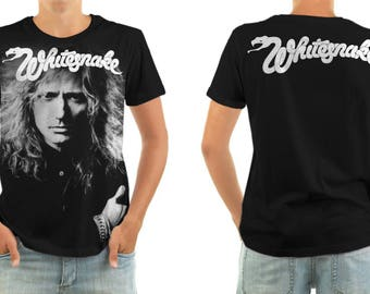 WHITESNAKE coverdale shirt all sizes