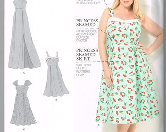 Plus size dress sewing pattern      !!!New York State customers....please read my policy regarding sales tax !