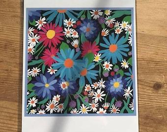 Floral Artist Print
