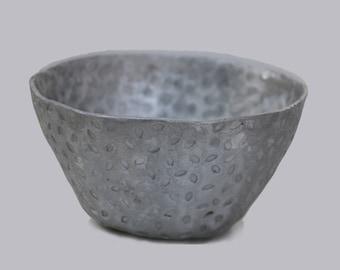 Aluminium Bowl - Hand Punched