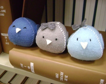Little Kawaii Bird Plushies