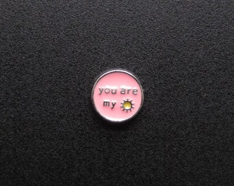 You Are My Sunshine Charm - Memory Lockets - Fits 25 and 30mm Floating Memory Lockets