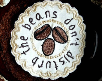 Don't Disturb the Beans Coffee Scented Patch