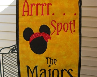 """Original Umbrella Spotter """"Arrrr Spot""""  For Your Disney Cruise Or Anywhere.  Don't Lose Your Spot Again"""