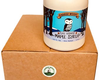 Bulk Maple Syrup - Four 1 Gallon Jugs of Pure Vermont Maple Syrup