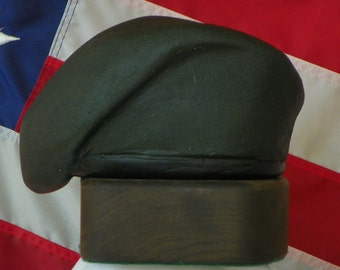 Green Beret: Handmade Sculpture