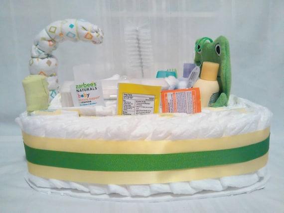 Diaper Cake Frog Diaper Cake Boy Diaper Cake Girl Diaper