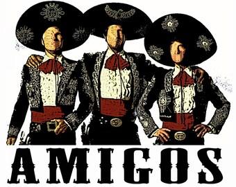 Three Amigos Movie T-Shirt