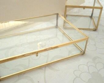Ready to ship: 1 Glass Box 3.5 x 3.5 x 2.5