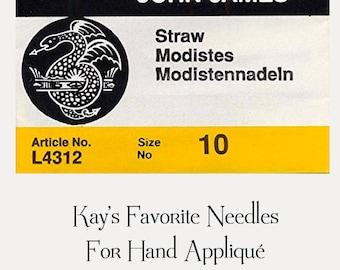 Hand Appliqué Needles