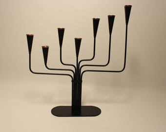 Candle Holder Ystad Metall Midcentury