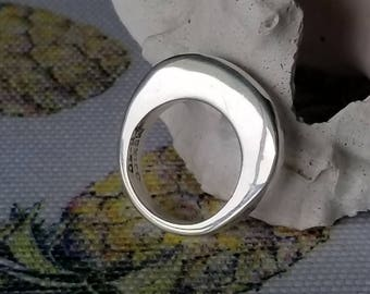 Sterling Silver Simple Band or Stacking Ring (st - 2242)
