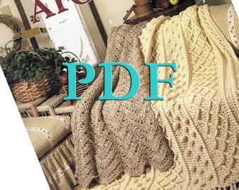 PDF - Quick Crochet Afghans, 1986, 3 designs
