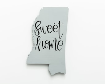 MS | Sweet Home Wood Wall Art