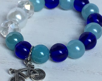 Blue bracelet for girls