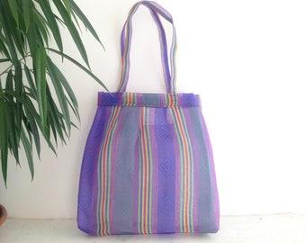 Purse - handbag - purple