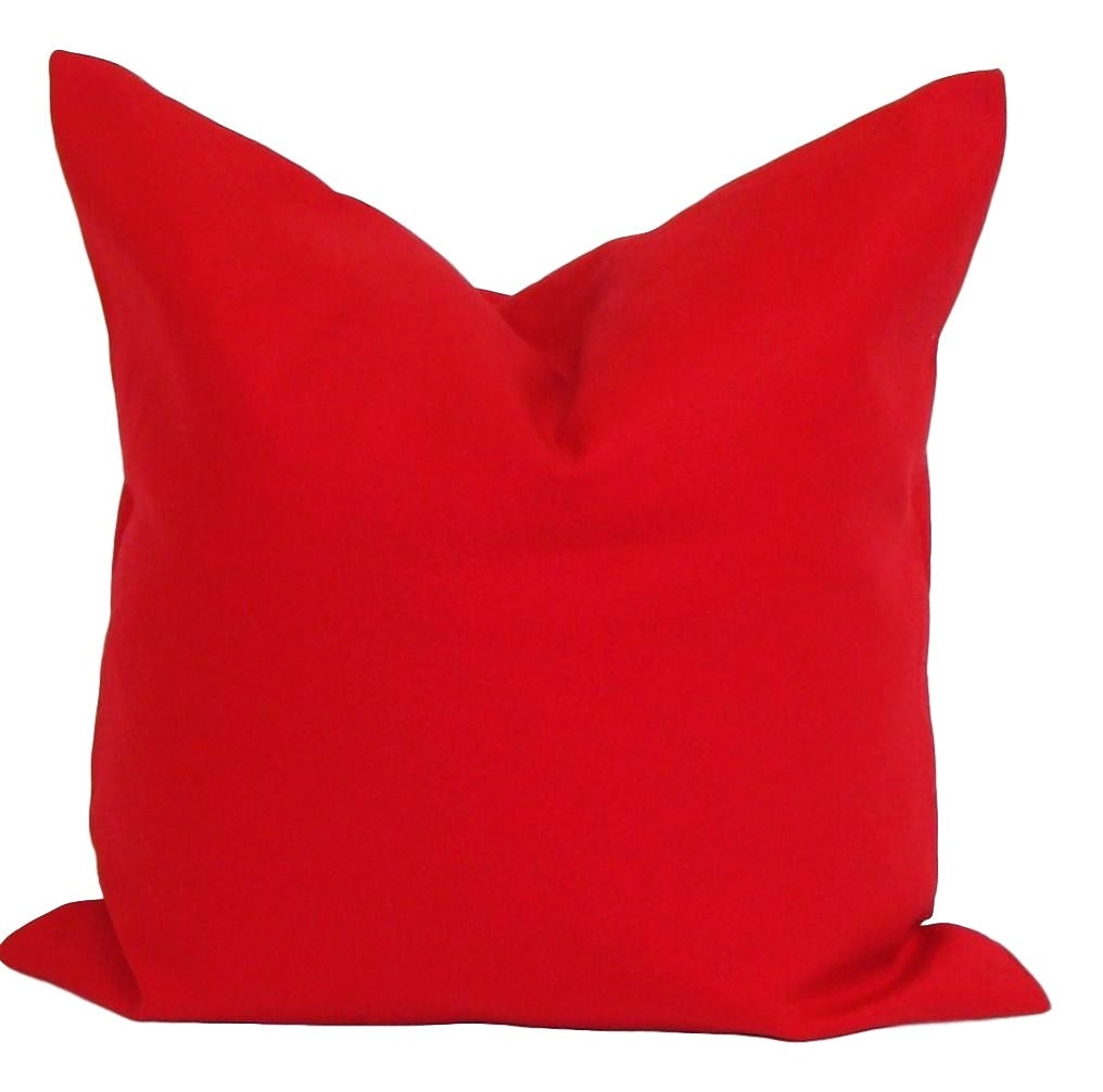 🔎zoom. solid red pillow covers red pillow cover decorative pillow